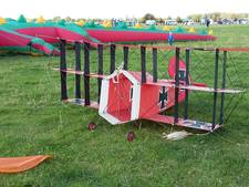 De Rode Baron en meer vliegers op Vliegerfeest in Denekamp