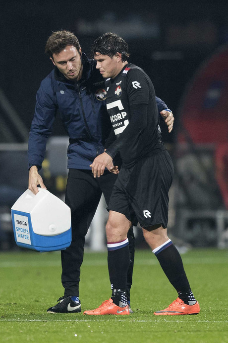 Knieoperatie voor Willem II-aanvaller Velikonja