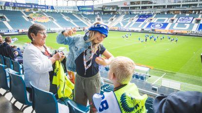 Jongste AA Gent-fans leven zich uit op fandag in Ghelamco Arena