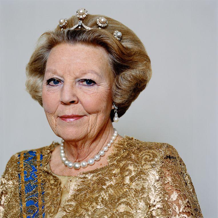 Koningin Beatrix, 2007.  Beeld Anton Corbijn