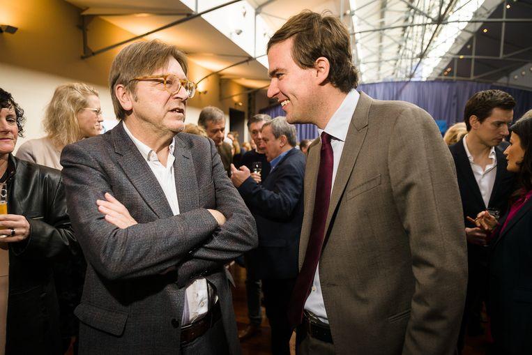 Verhofstadt komt Mathias De Clercq steunen