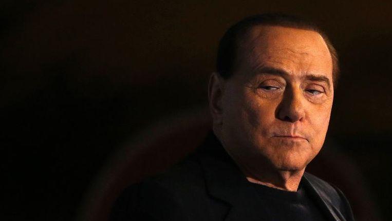 Silvio Berlusconi. Beeld reuters