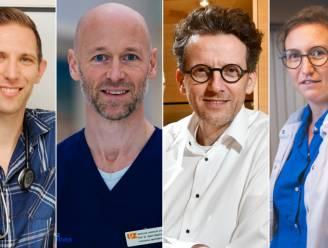 """4 dokters over hun vervroegde vaccinatie: """"Een hoopgevend signaal en een hart onder de riem voor velen"""""""