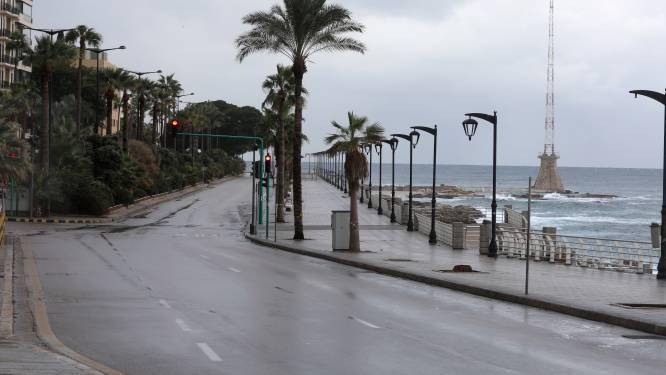 Libanezen mogen elf dagen niet buiten, zelfs niet om te wandelen of boodschappen te doen