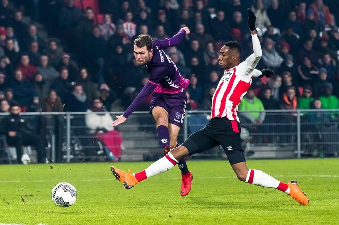 Sander van de Streek afgelopen seizoen in Eindhoven, daar waar de eerste wedstrijd van het nieuwe seizoen gepland staat