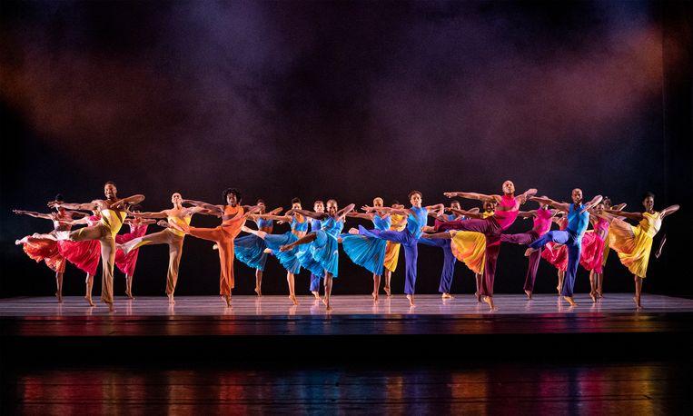 Ounce of Faith door Alvin Ailey American Dance Theater, choreografie van Darrell Grand Moultrie. Beeld Paul Kolnik