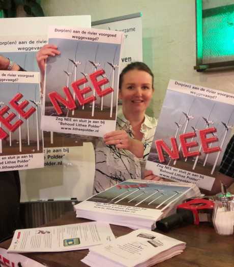 Lith strijdt tegen windmolens: 'Stop onmiddellijk met dit idiote plan'