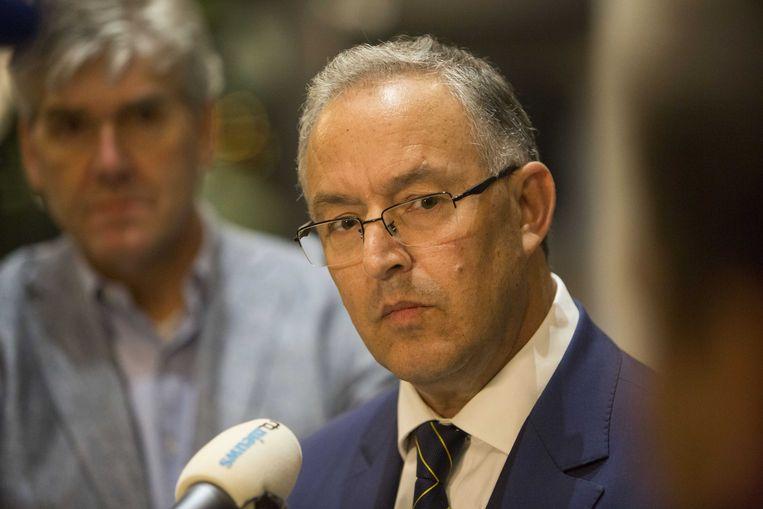 Burgemeester Aboutaleb van Rotterdam. Beeld ANP
