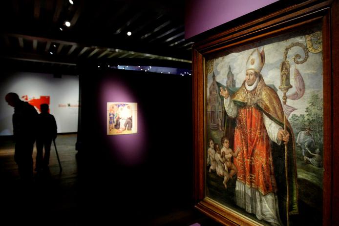 Een tentoonstelling over Sint-Nicolaas.