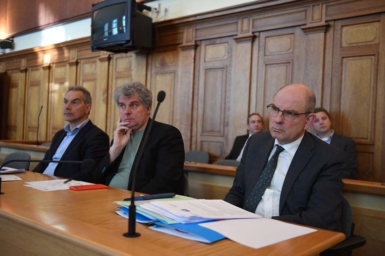 Minister Koen Geens kwam de digitalisering zelf uit de doeken doen vanochtend in de rechtbank van Leuven.