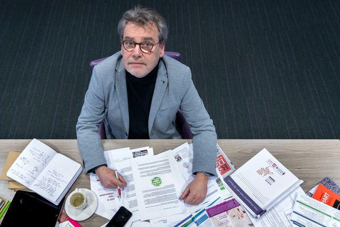 Laurens van Voorst, lijsttrekker van Code Oranje voor de Statenverkiezingen en fractievoorzitter van Hart voor Schijndel.