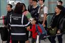 Temperatuurmetingen op het vliegveld van Hongkong, op 4 januari. Er was toen nog erg weinig bekend over het virus.
