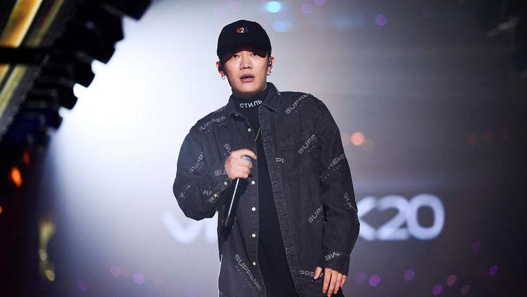 Video's van rapper PG One verdwenen van het internet en zijn concerten werden afgelast. Beeld reuters