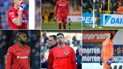 VIDEO. Keepersprobleem blijft duren voor Club: de Brugse doelmannen waarop Leko beroep deed, stapelden de voorbije maanden de pijnlijke blunders op