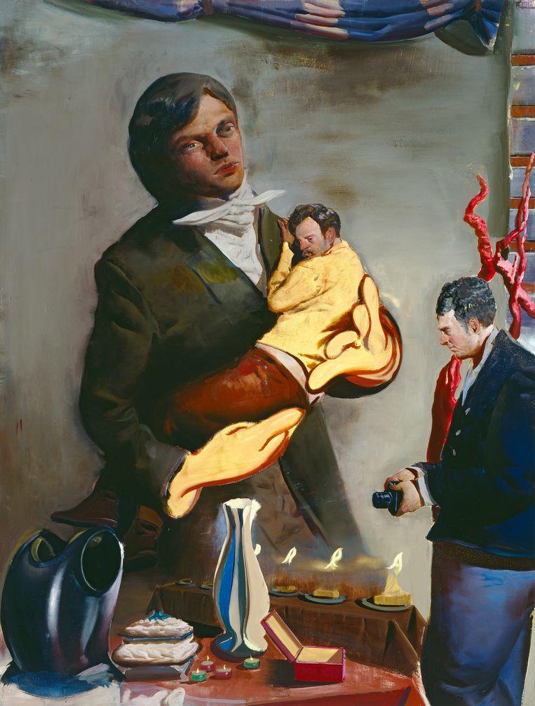 'Vater', 2007. Olieverf op doek, 200 x 150 cm. Collectie Ruth Beeld rv