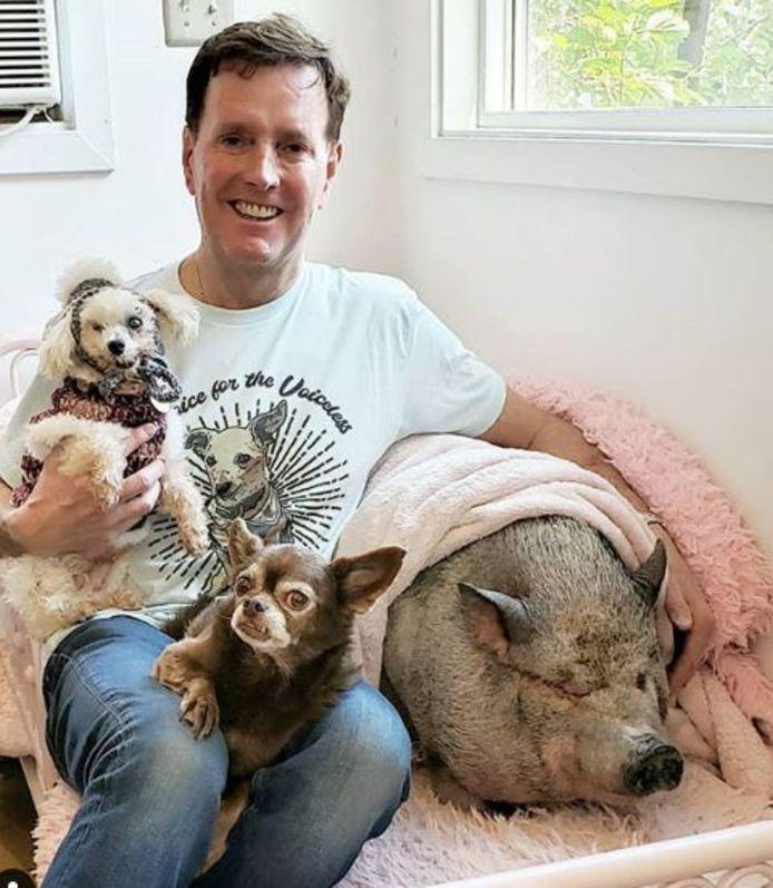 Steve Greig et ses animaux