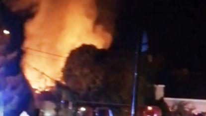 FILMPJE 'Urban Places'-schuur volledig uitgebrand: geen (moedwillige) brandstichting