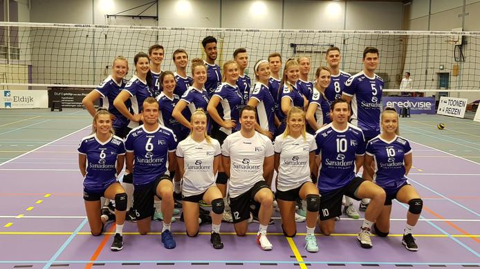 De eerste teams van de mannen en vrouwen van Vocasa.