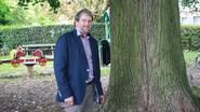 Vandaal vergiftigt zes bomen in parkje achter cultuurhuis