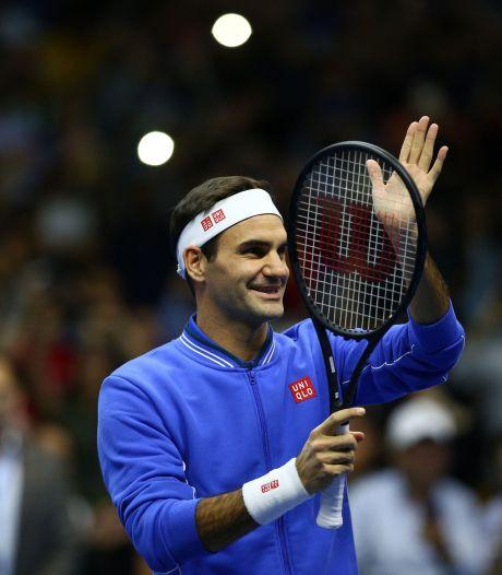 Federer over eventueel afscheid: 'Ik stop pas als mijn lichaam dat wil'