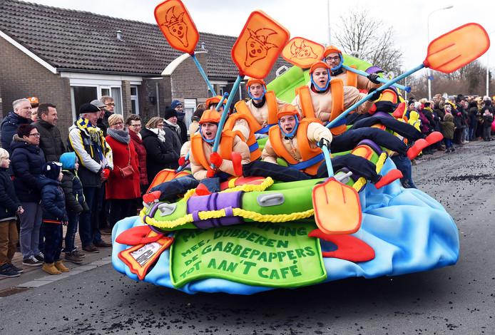 Carnavalsoptocht Sas van Gent
