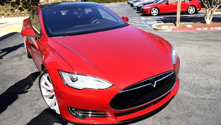 Een Tesla model S. Beeld anp