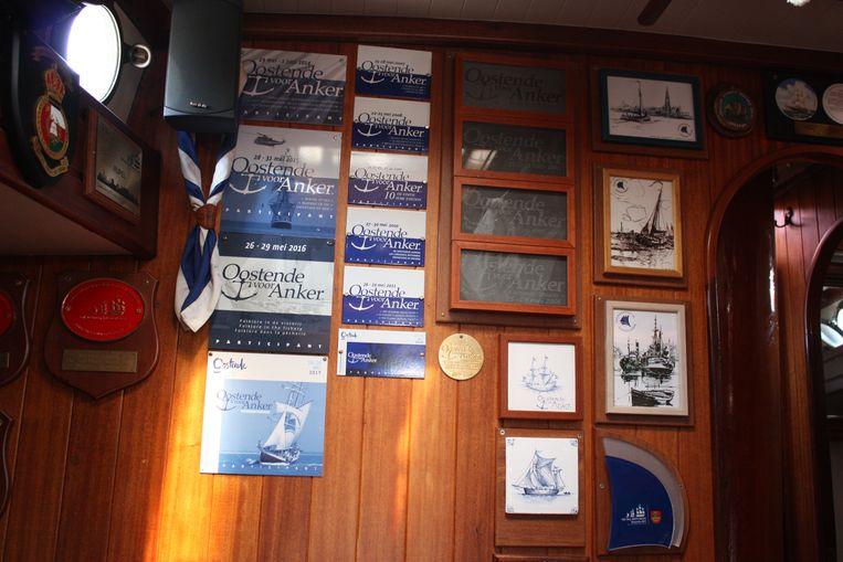 De Rupel is het enige schip dat al 20 jaar deelneemt aan Oostende voor Anker