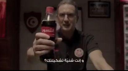 Georges Leekens doet het voor Coca-Cola in het Arabisch