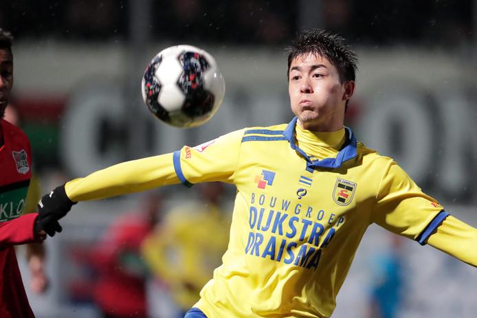 Sai van Wermeskerken komt de komende twee seizoen uit voor PEC Zwolle.