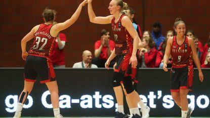 Belgische basketvrouwen behouden tegen Duitsland hun perfect rapport