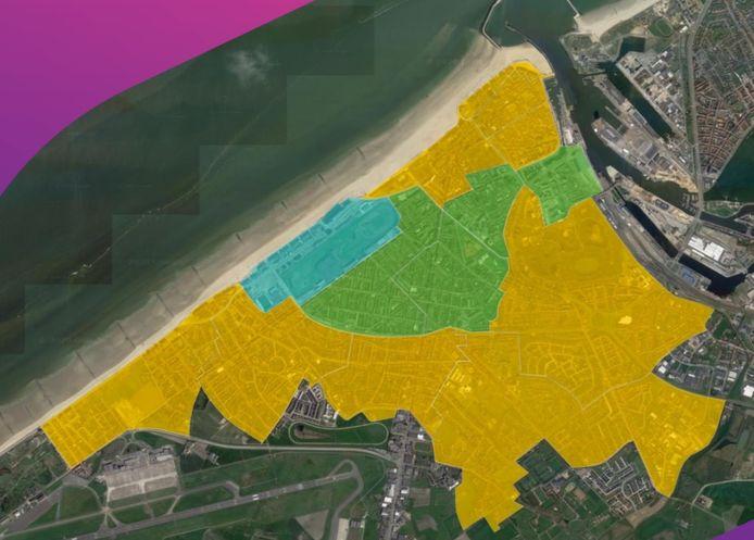 Proximus wil tegen 2022 zowat heel Oostende van het fibernetwerk voorzien.