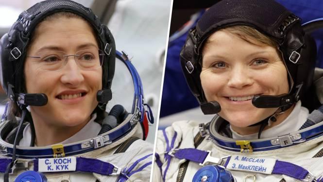 Volledig vrouwelijke ruimtewandeling geannuleerd omdat ruimtepakken niet passen