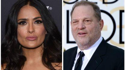 Harvey Weinstein breekt eindelijk zijn stilte in respons op Selma Hayek