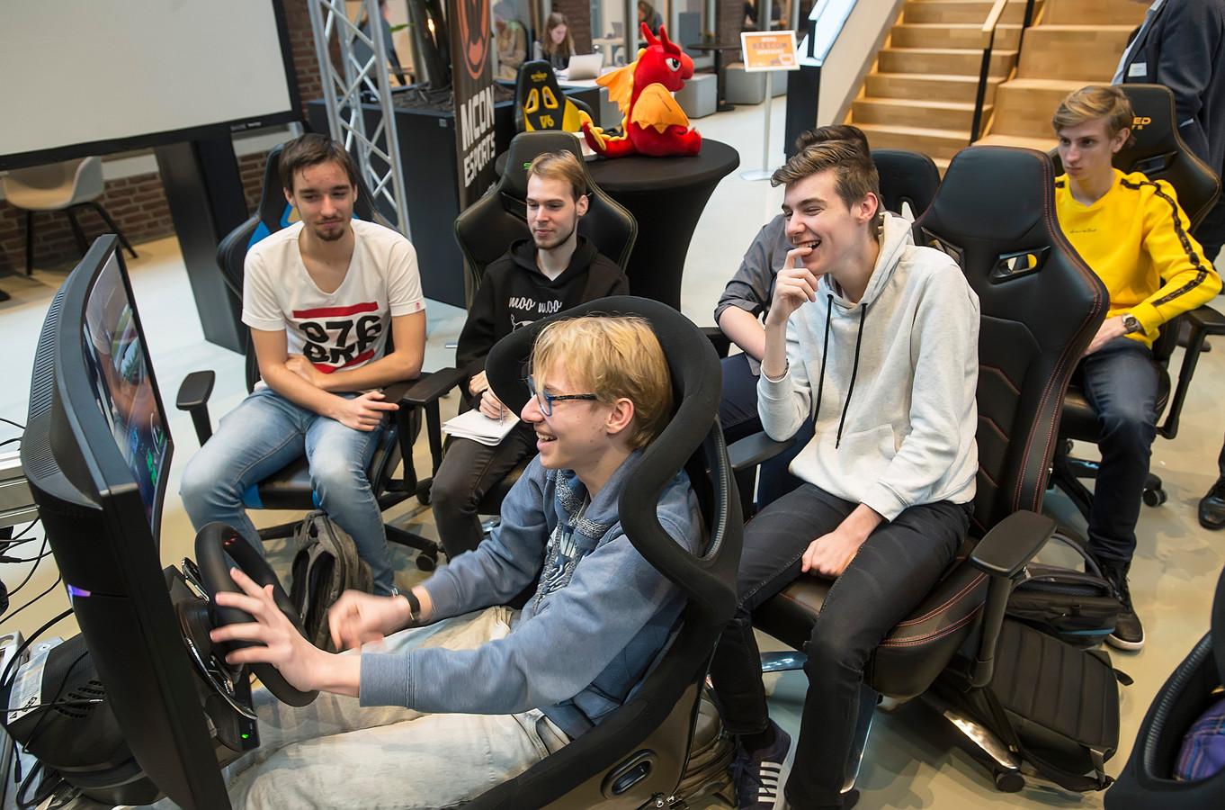 Als eerste hogeschool in Nederland heeft Breda University of Applied Sciences een minor e-sports.