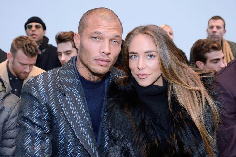 Jeremy Meeks en Chloe Green in 2018