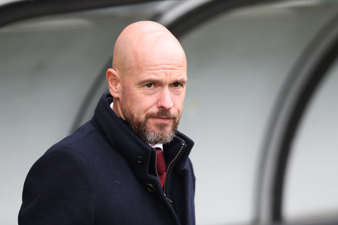 Ajax-coach Erik ten Hag.