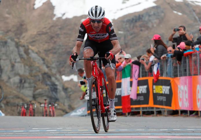 Bauke Mollema in de 13e Giro-etappe.