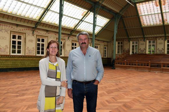 Algemeen directeur vzw KODiD Arthur Troch en financieel directeur Ilse Penninckx.