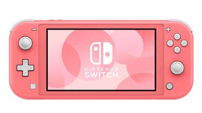 Koraalkleurige Nintendo Switch Lite komt op 24 april naar België