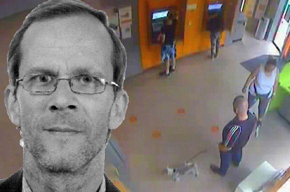 Ronny Van De Velde werd nog gezien op camerabeelden in een ING-kantoor in de Gentse Martelaarslaan.