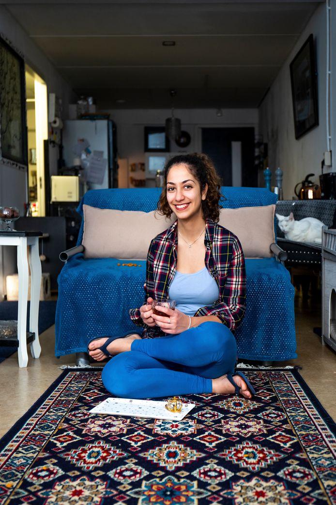 De 20-jarige Iraanse Aida Daneshvar Ghahfarokhi.