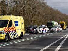 Ernstig ongeval op N36: weg volledig dicht tussen Mariënberg en Vriezenveen