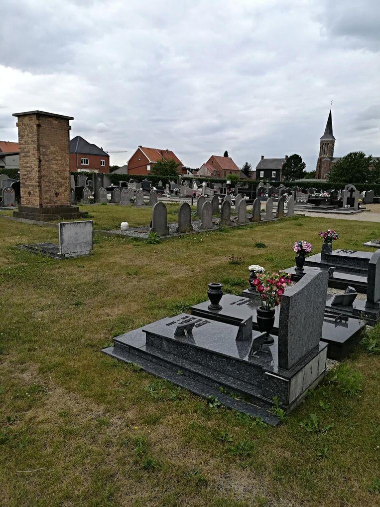 De begraafplaats van Schoonderbuken.