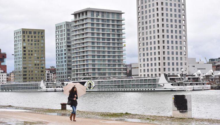 Enkele blokken op het Antwerpse Eilandje.Voor alle duidelijkheid: de genoemde problemen stellen zich niet per se daar, de geciteerde percentages zijn algemeen.