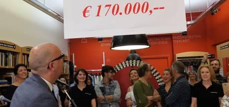 Recordbedrag Bossche winkel van Terre des Hommes