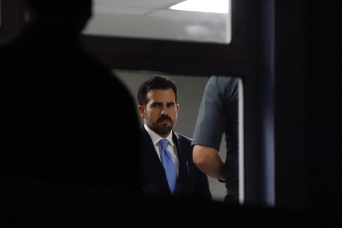 De gouverneur van Puerto Rico Ricardo Rossello