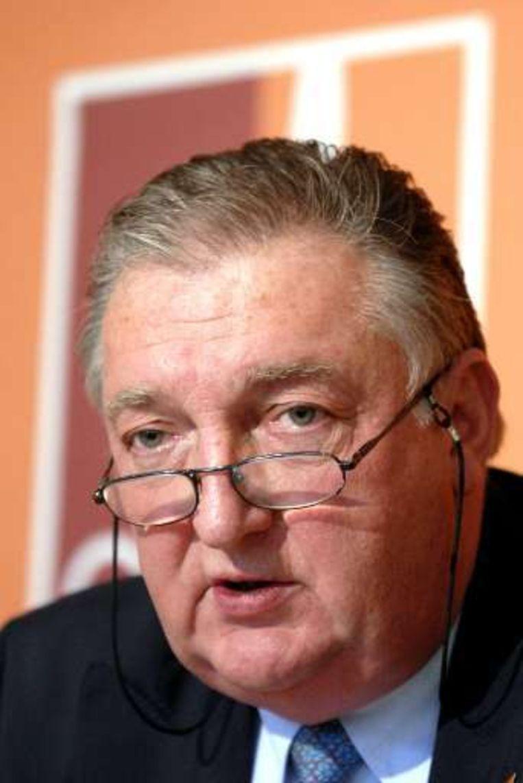 Federaal minister van Werk Josly Piette.
