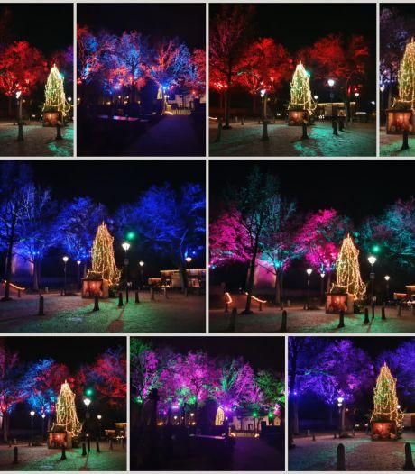 Sprookjesachtige kerst in Afferden dankzij alle inwoners