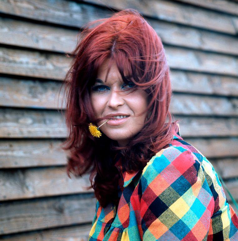 De Nederlandse zangeres Rita Hovink. Beeld null