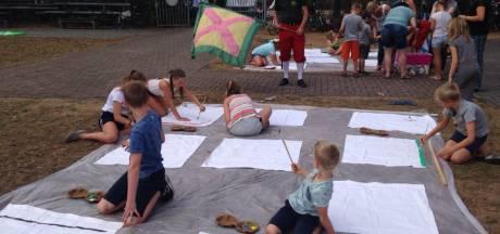 Kindervakantieweek in Steensel sluit af met gildemiddag